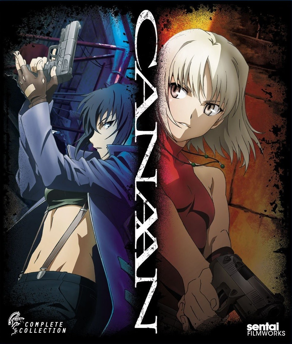 S: Anime Blu-rays (Canaan, Knights of Sidonia, Penguindrum)