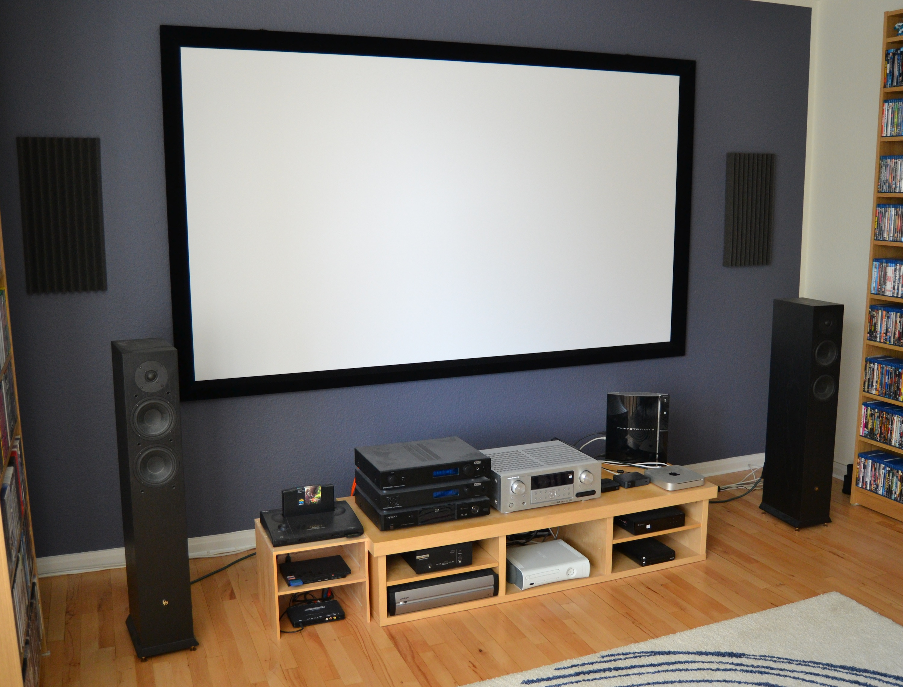 living room tv setup naiera s 108 quot living room theatre forum 15847